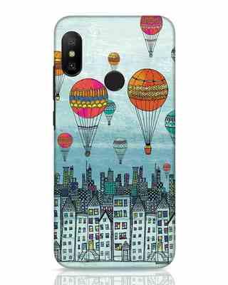 Shop Hot Air Balloon Xiaomi Redmi 6 Pro Mobile Cover-Front