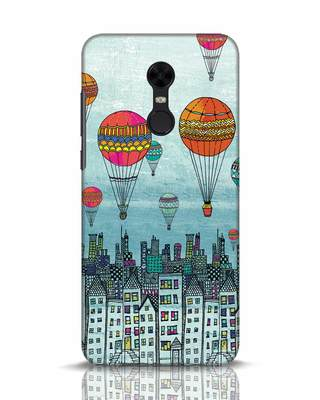 Shop Hot Air Balloon Xiaomi Redmi Note 5 Mobile Cover-Front