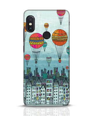 Shop Hot Air Balloon Xiaomi Redmi Note 5 Pro Mobile Cover-Front
