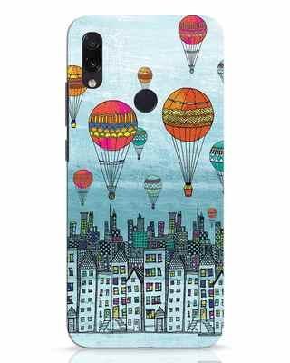 Shop Hot Air Balloon Xiaomi Redmi Note 7 Pro Mobile Cover-Front