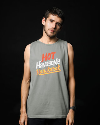 Shop Hot Handsome Vest-Front