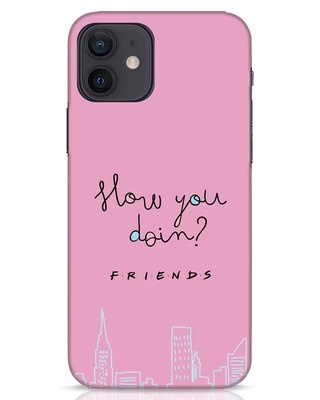 Shop How You Doin iPhone 12 Mobile Cover (FRL)-Front