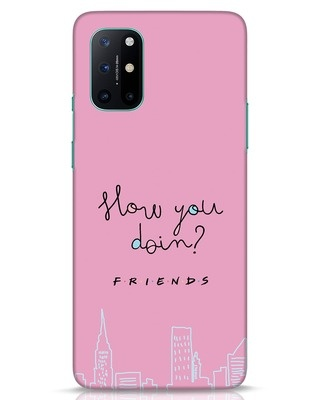 Shop How You Doin OnePlus 8T Mobile Cover (FRL)-Front