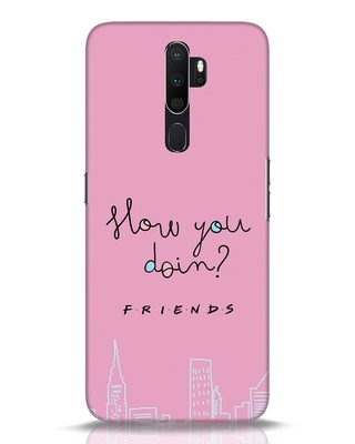 Shop How You Doin Oppo A5 2020 Mobile Cover (FRL)-Front