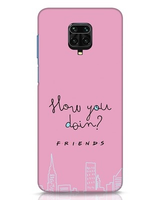Shop How You Doin Xiaomi Redmi Note 9 Pro Mobile Cover (FRL)-Front