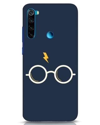 Shop Hp Glasses Xiaomi Redmi Note 8 Mobile Cover-Front