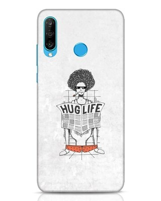 Shop Hug Life Huawei P30 Lite Mobile Cover-Front