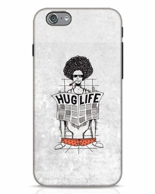 Shop Hug Life iPhone 6s Mobile Cover-Front