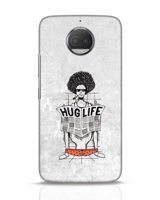 Shop Hug Life Moto G5s Plus Mobile Cover-Front