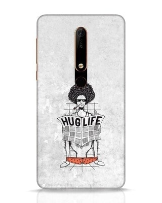 Shop Hug Life Nokia 6.1 Mobile Cover-Front