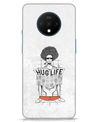 Shop Hug Life OnePlus 7T Mobile Cover-Front