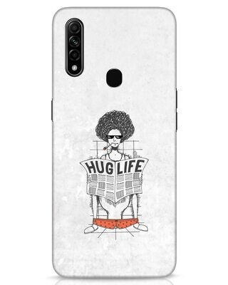 Shop Hug Life Oppo A31 Mobile Cover-Front