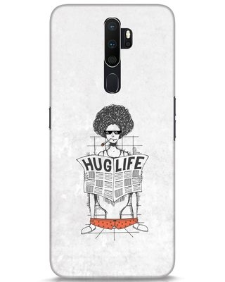Shop Hug Life Oppo A5 2020 Mobile Cover-Front