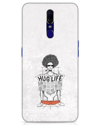 Shop Hug Life Oppo F11 Mobile Cover-Front