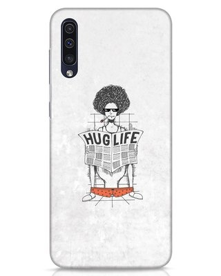 Shop Hug Life Samsung Galaxy A50 Mobile Cover-Front