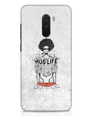 Shop Hug Life Xiaomi POCO F1 Mobile Cover-Front