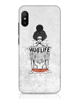 Shop Hug Life Xiaomi Redmi 6 Pro Mobile Cover-Front