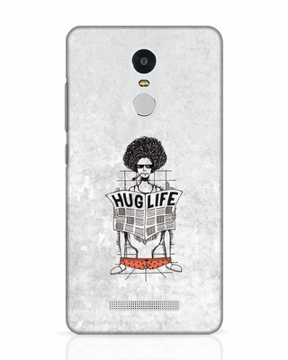 Shop Hug Life Xiaomi Redmi Note 3 Mobile Cover-Front