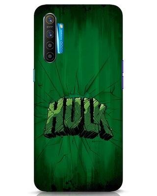 Shop Hulk Crack Realme XT Mobile Cover (AVL)-Front
