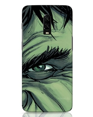 Shop Hulk OnePlus 6T Mobile Cover (AVL)-Front