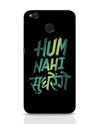 Shop Hum Nahi Sudhrenge Xiaomi Redmi 4 Mobile Cover-Front