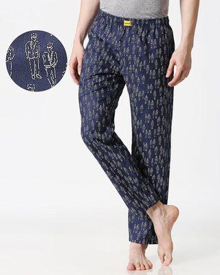 Shop Human Doodle Men's Pyjama-Front