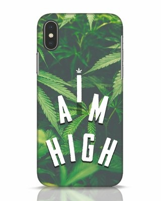 Shop I Am High iPhone X Mobile Cover-Front
