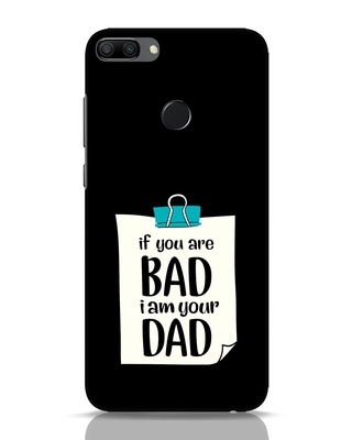 Shop I Am Your Dad Huawei Honor 9N Mobile Cover-Front