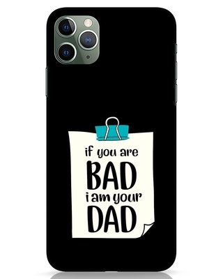Shop I Am Your Dad iPhone 11 Pro Max Mobile Cover-Front