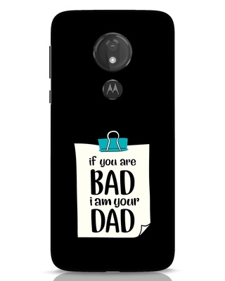 Shop I Am Your Dad Moto G7 Power Mobile Cover-Front