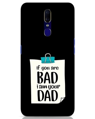 Shop I Am Your Dad Oppo F11 Mobile Cover-Front