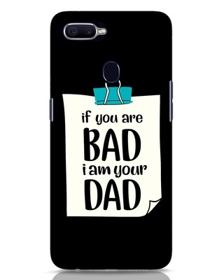 Shop I Am Your Dad Oppo F9 Pro Mobile Cover-Front