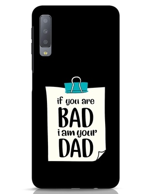 Shop I Am Your Dad Samsung Galaxy A7 Mobile Cover-Front