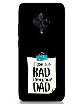 Shop I Am Your Dad Vivo S1 Pro Mobile Cover-Front