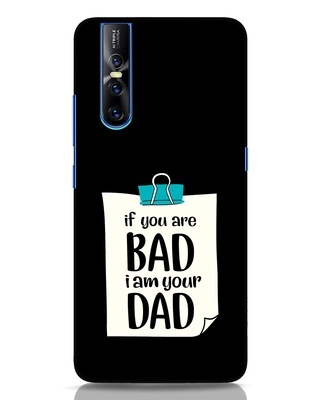 Shop I Am Your Dad Vivo V15 Pro Mobile Cover-Front
