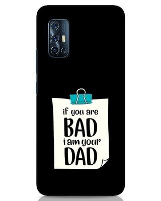 Shop I Am Your Dad Vivo V17 Mobile Cover-Front