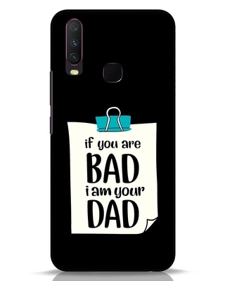 Shop I Am Your Dad Vivo Y17 Mobile Cover-Front