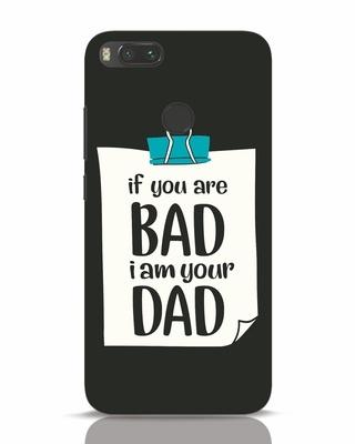 17de209332f white stub Shop I Am Your Dad Xiaomi Mi A1 Mobile Cover-Front
