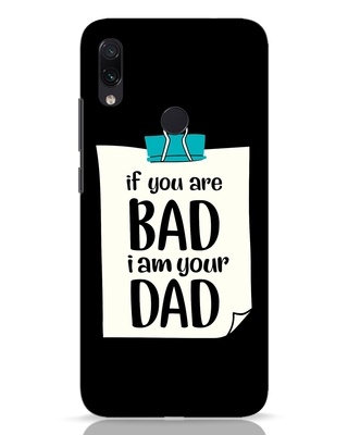 Shop I Am Your Dad Xiaomi Redmi Note 7 Mobile Cover-Front