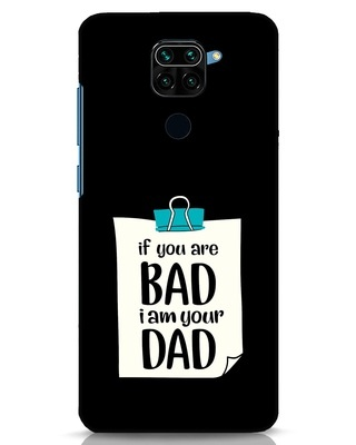 Shop I Am Your Dad Xiaomi Redmi Note 9 Mobile Cover-Front