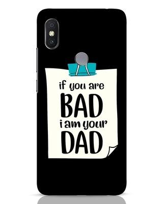 Shop I Am Your Dad Xiaomi Redmi Y2 Mobile Cover-Front