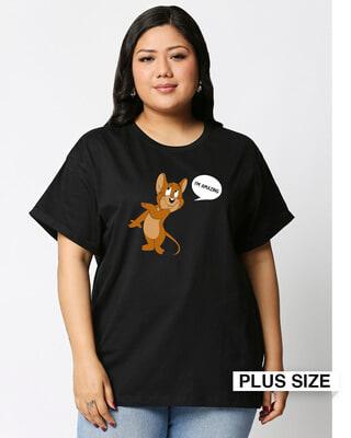 Shop I'm Amazing Boyfriend Printed T-Shirt Plus Size-Front