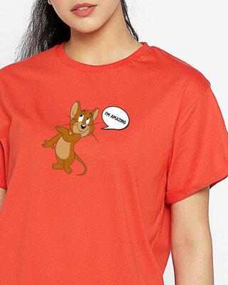 Shop I'm Amazing Boyfriend T-Shirt (TJL)-Front