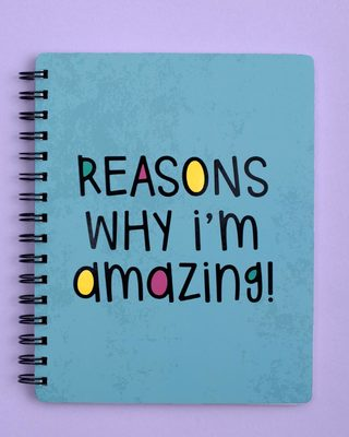 Shop I'm Amazing Spiral Notebook-Front
