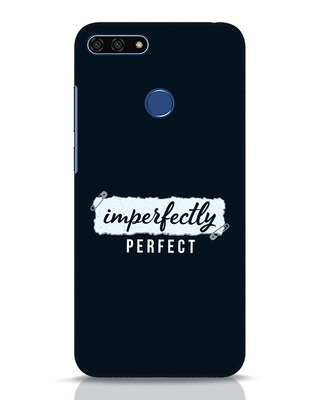 Shop I'm Perfect Huawei Honor 7A Mobile Cover-Front