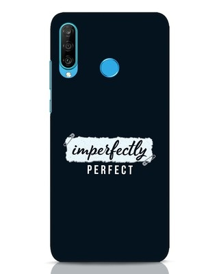 Shop I'm Perfect Huawei P30 Lite Mobile Cover-Front