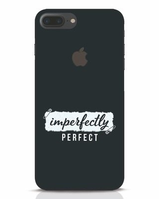 Shop I'm Perfect iPhone 7 Plus Logo Cut Mobile Cover-Front