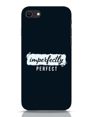 Shop I'm Perfect iPhone SE 2020 Mobile Cover-Front