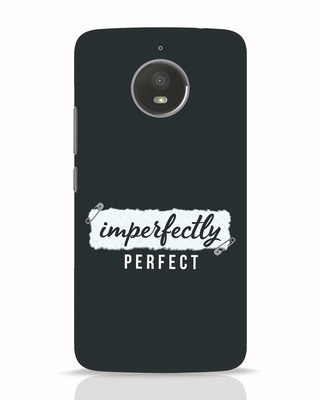 Shop I'm Perfect Moto E4 Plus Mobile Cover-Front
