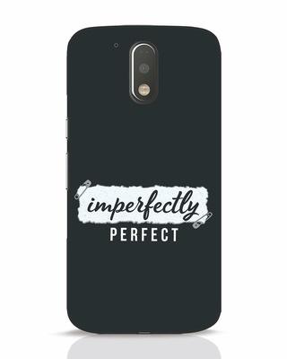 Shop I'm Perfect Moto G4 Plus Mobile Cover-Front